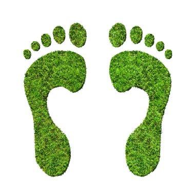 Green footprints