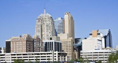 Skyline of Oklahoma City