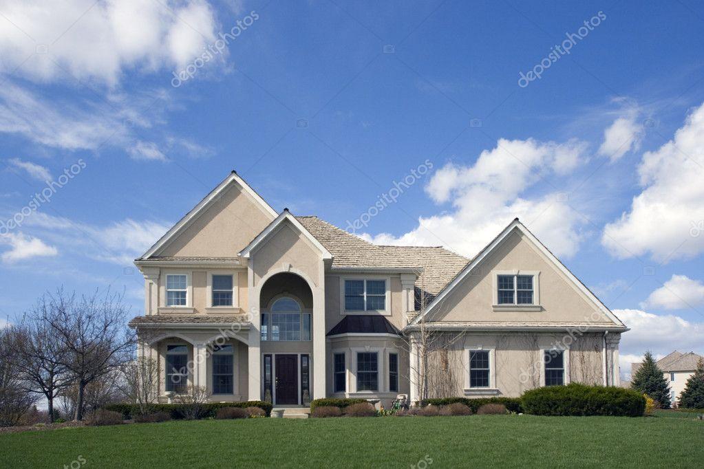 Typical SuburbanLuxury Brick House