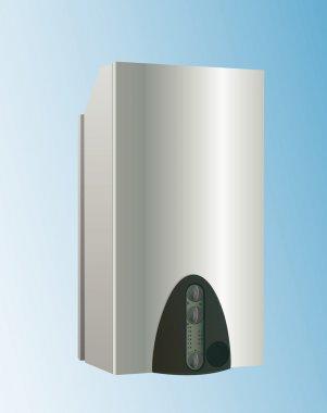 Heating boiler vector clip art vector