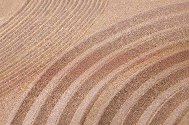 Zen garden of sand