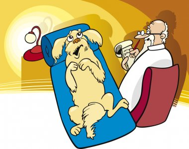 Dog at Psychotherapist