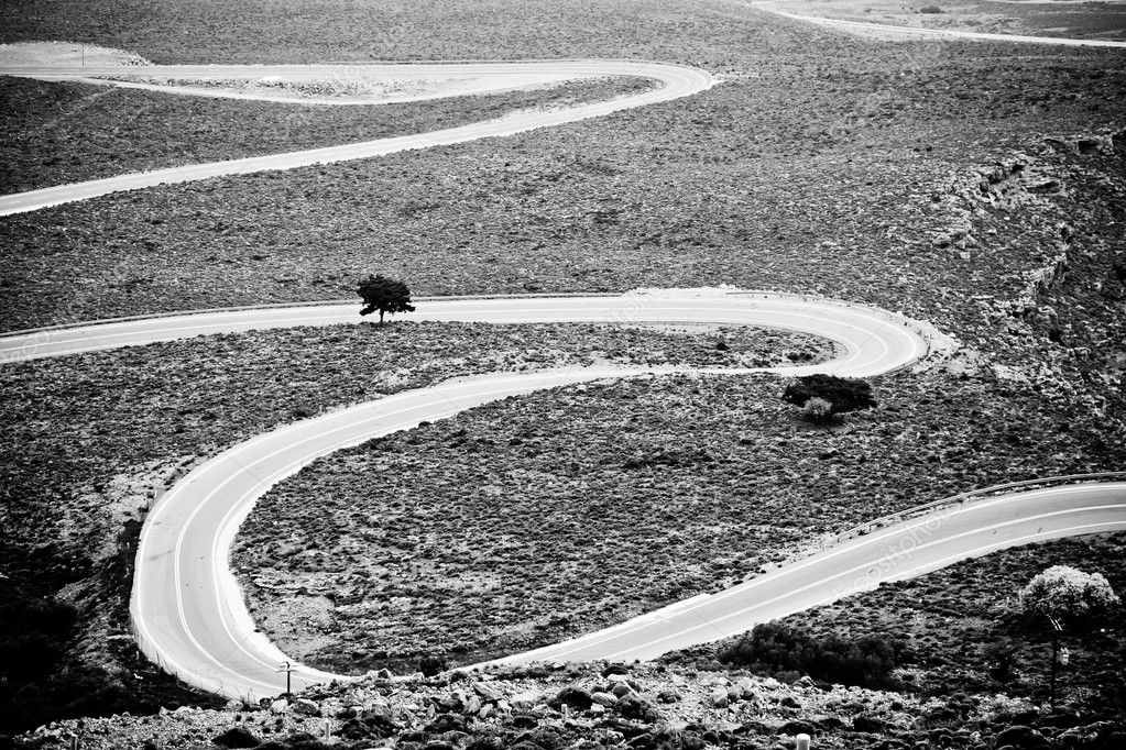 Road to Khora Sfakion