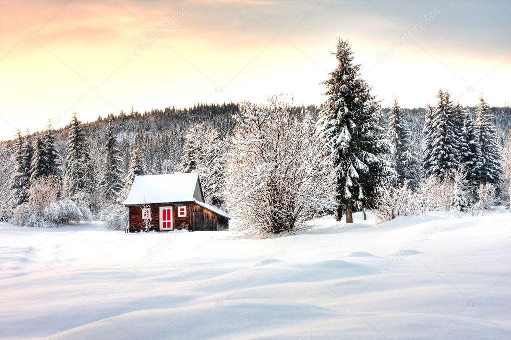 Зимние Обои На Стол Картинки