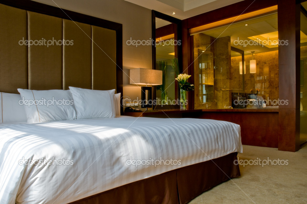 Bedroom Of A Elegant 5 Star Hotel Suite Room And Attached Marbel Bathroom Photo By A41cats