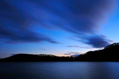 Dusk at Lake Tikitapu