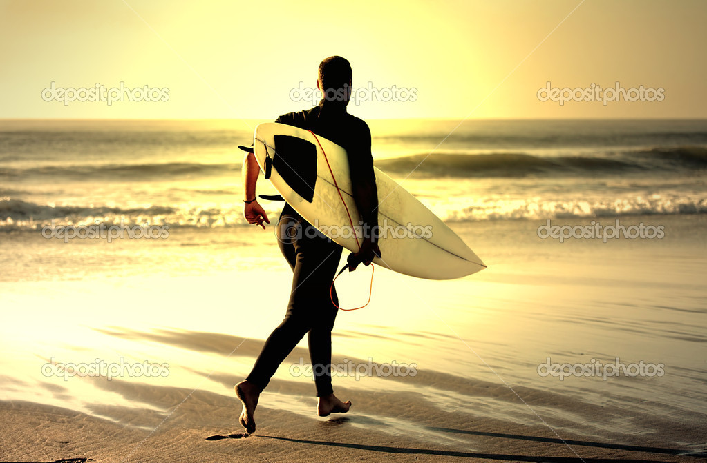 Surf teacher