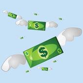 Money flying 2