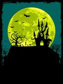 Fotografie Halloween plakát pozadí