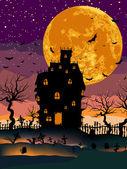 Fotografie Halloweenské noci