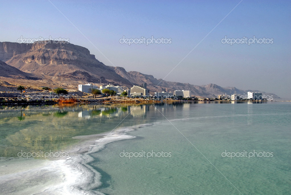 Panorama of Dead Sea Resort