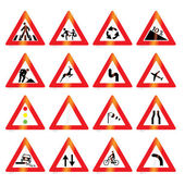 Dopravní značky (vektor)