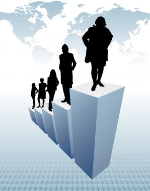 Business team (vector illustration)