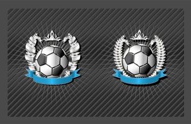 Soccer (football) emblem