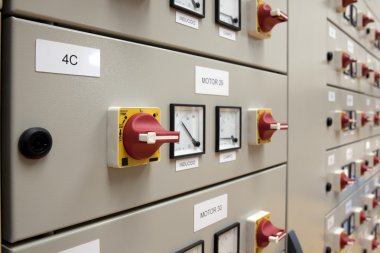 Cubicles electrical panel