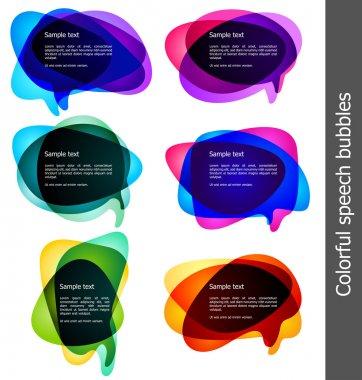 """Картина, постер, плакат, фотообои """"пузыри для речи """", артикул 3713476"""