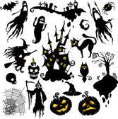 Fényképek Halloween-készlet