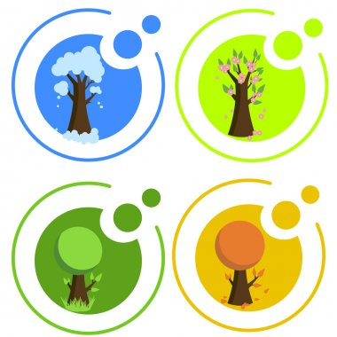 Seasonal icons