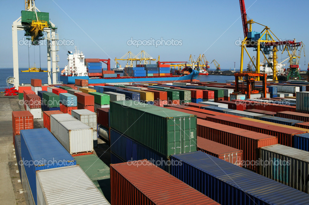 canadas second largest container port - HD3000×1996