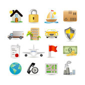 Photo Insurance Icon Set