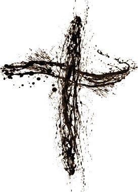 Grunge Style Cross