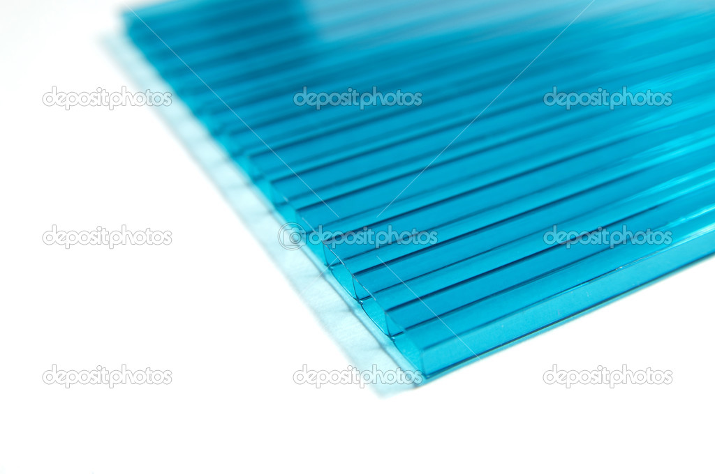 Polycarbonate sheets — Stock Photo © Korshenkov #3824294