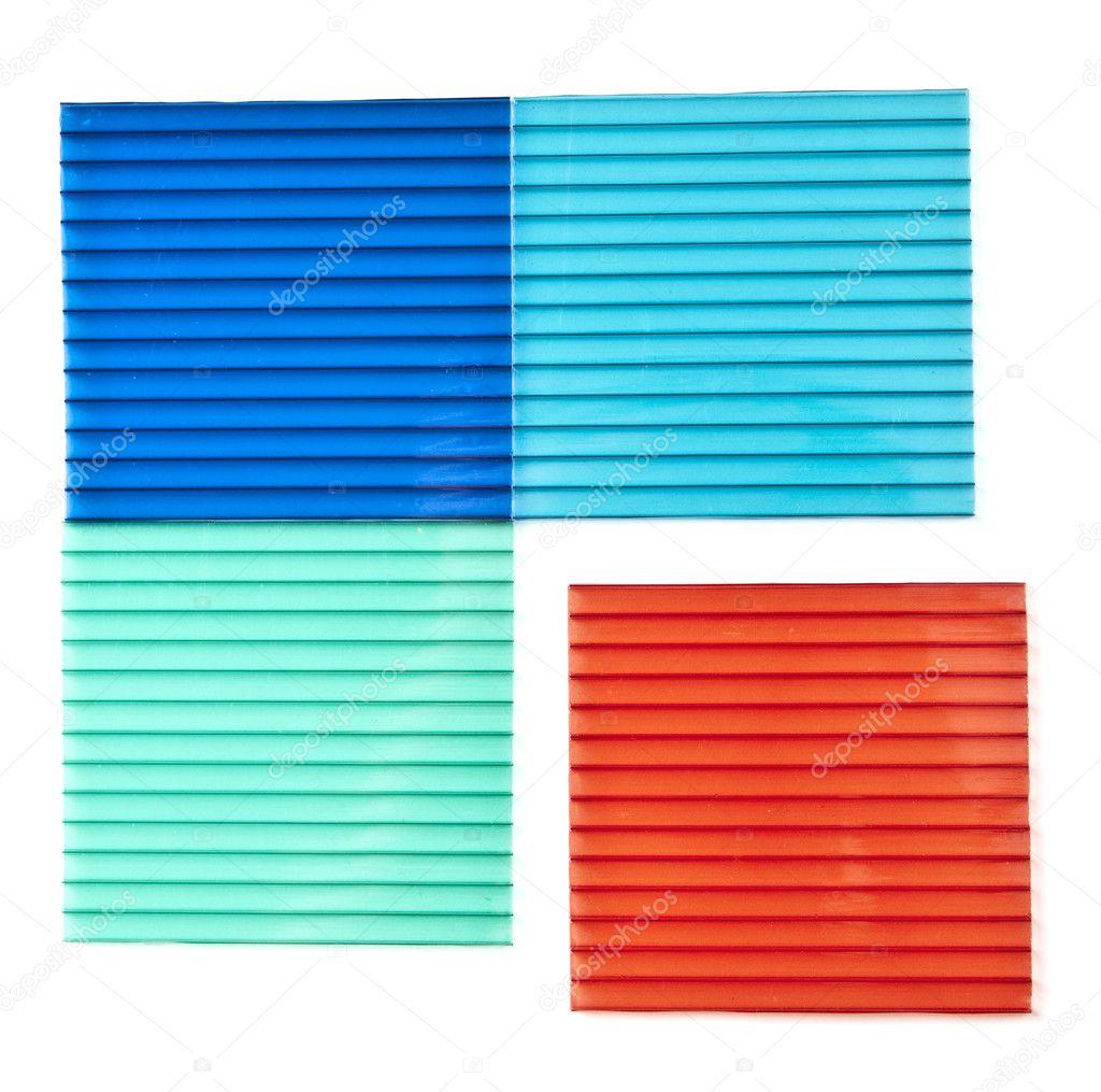 Polycarbonate sheets — Stock Photo © Korshenkov #3824476