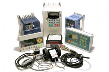 Industrial frequency inverters, incremental encoders and counters