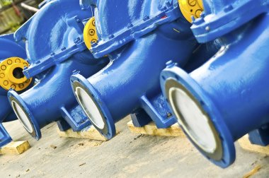 Blue water pumps