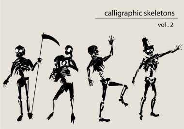 Calligraphic skeletons