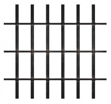 Rusty Prison Bars