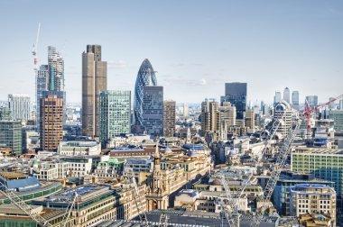 City of London`s skyline