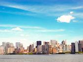 Fotografie panorama města Boston