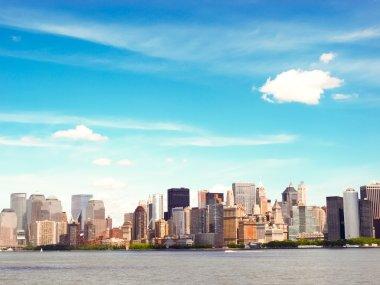 """Картина, постер, плакат, фотообои """"Горизонты города Бостон"""", артикул 3807236"""