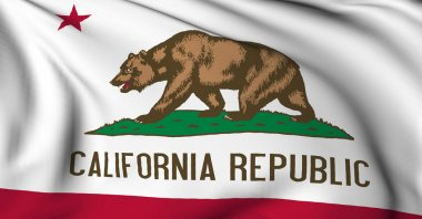 California flag - USA state flags collection