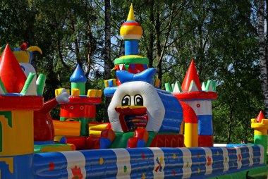 Inflatable child playground