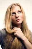 Fotografie portrét mladé blond