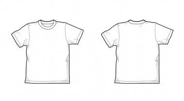 T-shirt, pattern
