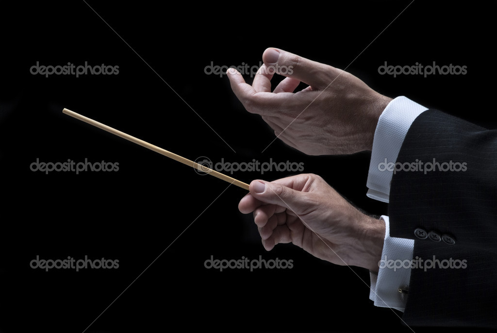 Music conductor
