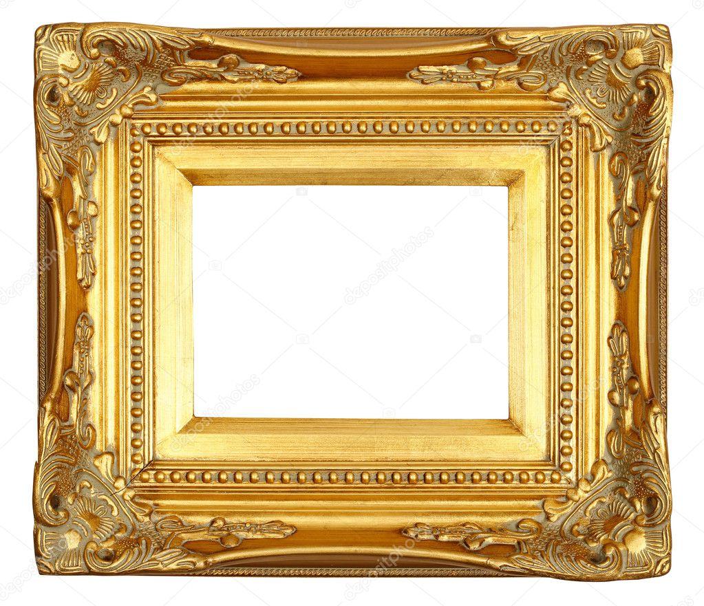 Antique gold frame stock photo macniak 3893952 for Old antique frames