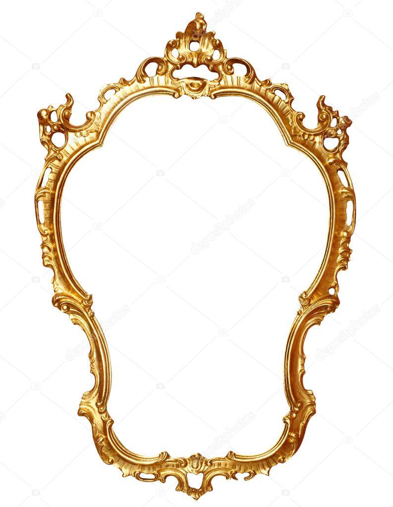Gold frame stock photo macniak 3893954 for Old antique frames