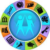 Photo Education Icons