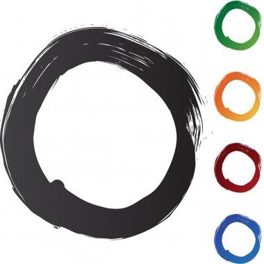 Circle Brushstrokes