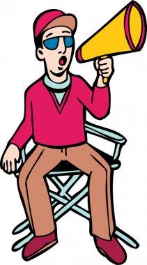 Diector on Chair