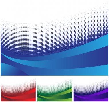 Wave Banner Set