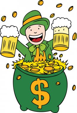 Lucky Beer and Gold