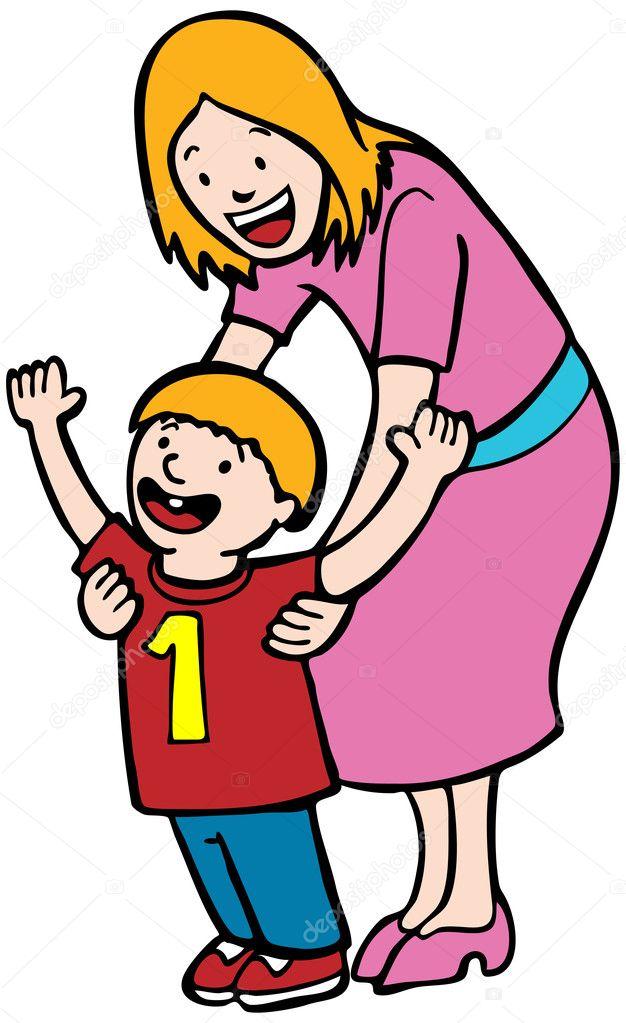 Step Mom Helps Son Jerk Off