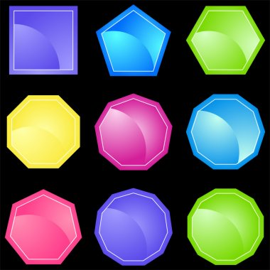 Set of 9 Shapes