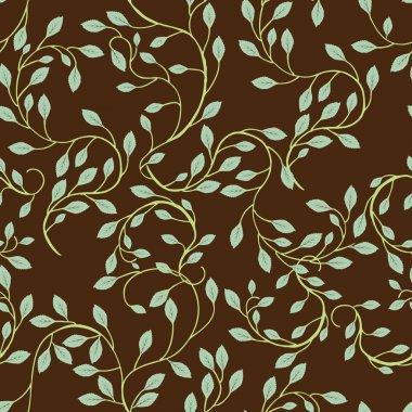 Vine Background Pattern