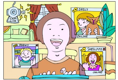 Webcam chatroom